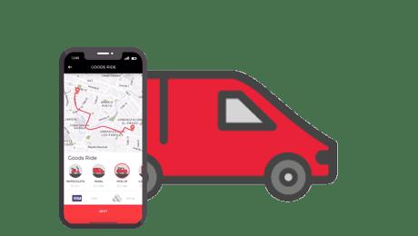 AllTruck le facilita la vida mediante una APP para el transporte seguro e inmediato de sus objetos y carga, mediante pick ups, camiones y motocicletas.